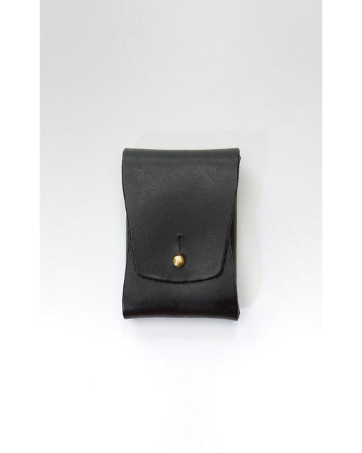 Lyst tanner goods business cardholder case black in black for men tanner goods business cardholder case black for men lyst colourmoves
