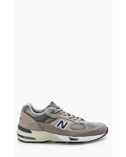 """New Balance Gray M991 Ani Grey/navy """"made In Uk"""" for men"""