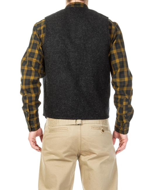 Filson Mens Mackinaw Wool Vest