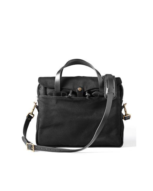 Filson - Original Briefcase Black for Men - Lyst