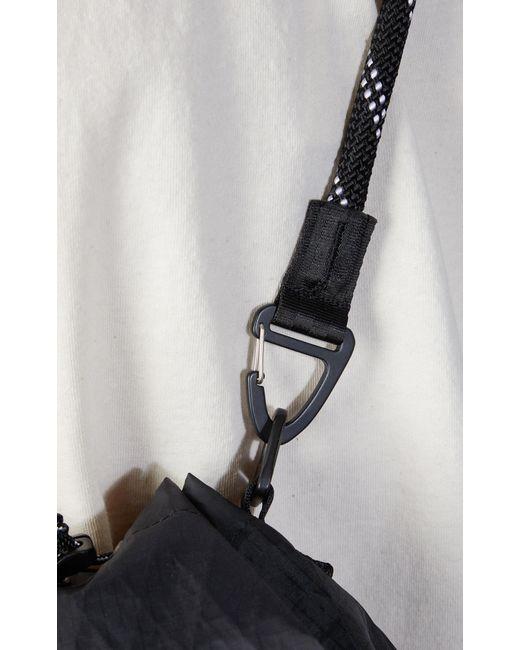 F/CE X-pac Drawstring Shoulder Bag Black for men