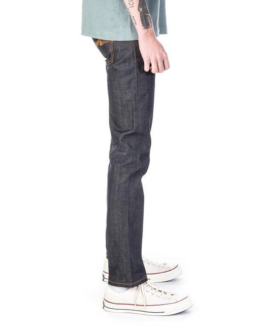 Nudie Jeans Mens Grim Tim Salty Summer