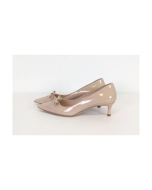 e9610ee3e77 Lyst - Miu Miu Light Pink Kitten Heels in Pink