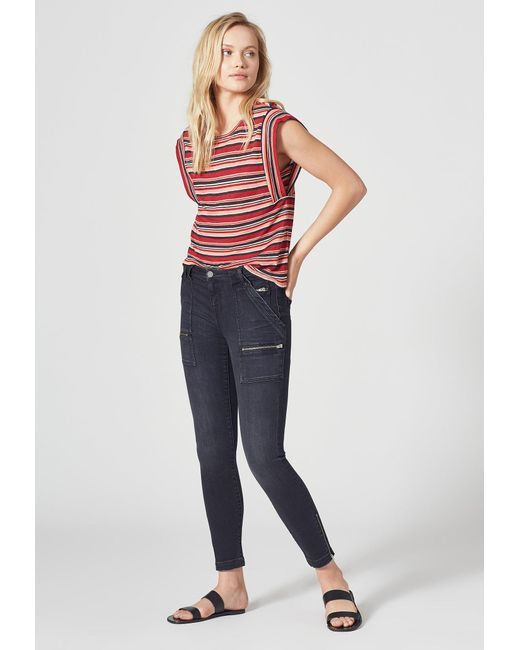 Current/Elliott Black Joie Park Skinny Jean