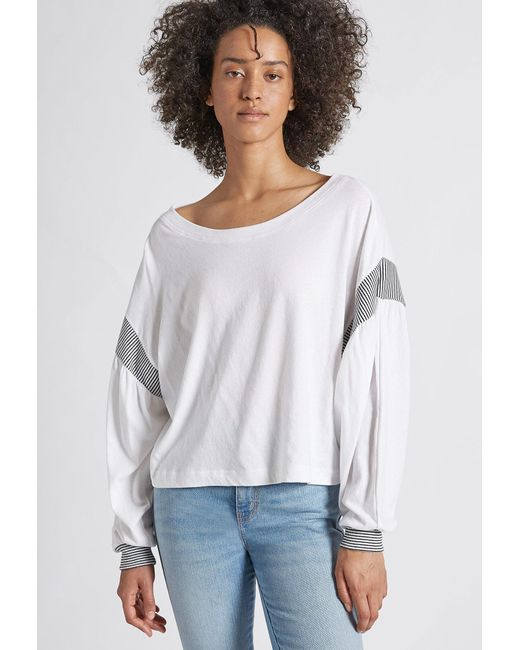 Current/Elliott Gray The Two Step Top