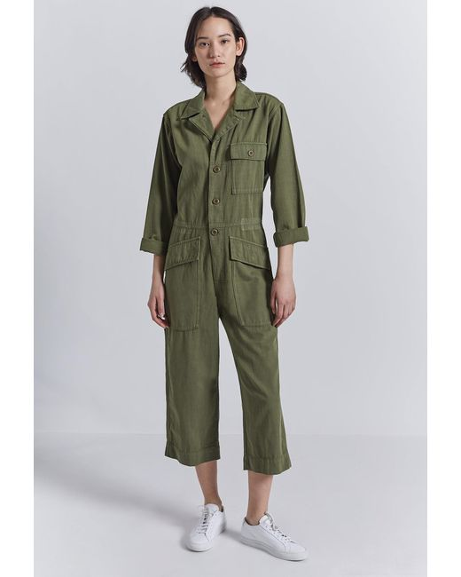Current/Elliott Green The Richland Coverall
