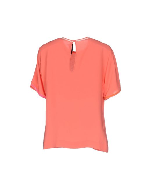 Paul Smith | Pink Blouse | Lyst