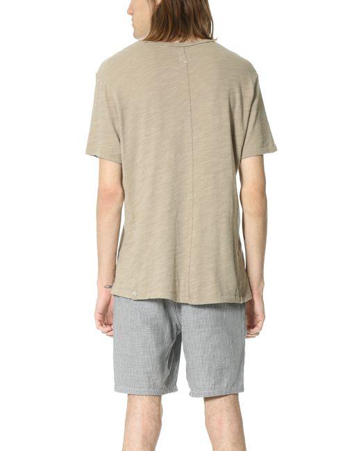 Rag & Bone | Natural Basic T-shirt for Men | Lyst
