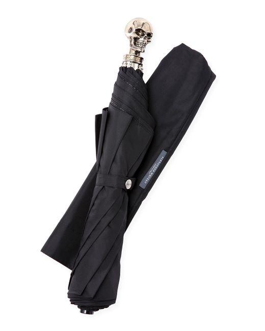 Alexander McQueen   Black Skull Travel Umbrella   Lyst