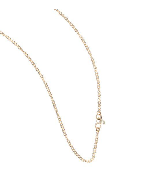 Melissa Joy Manning | Metallic 0.15ct Diamond Drop Necklace | Lyst