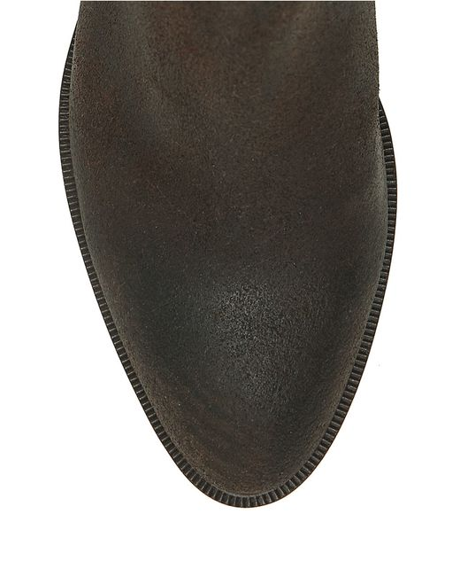 Elliott Lucca | Brown Rosaria Leather Ankle Boots | Lyst