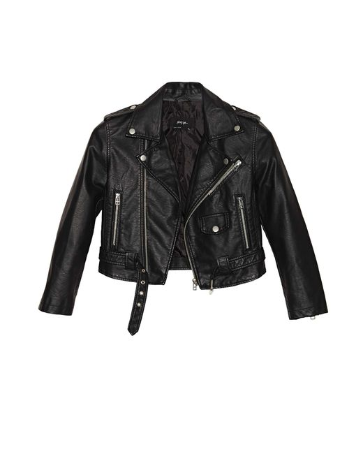 Nasty Gal   Black Moto Zip Crop Jacket   Lyst