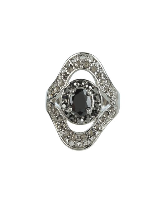 Guess | Metallic Multi Stone Crystal Ring | Lyst
