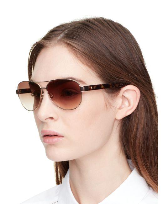 10db9da922 Kate Spade Women s Dalia Aviator Sunglasses