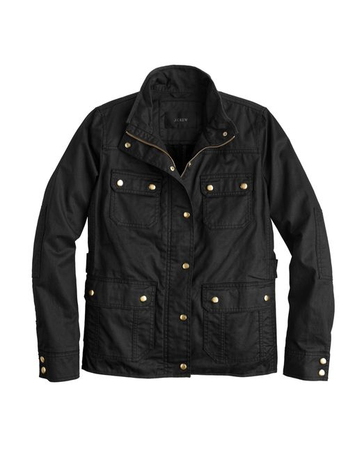 J.Crew | Black The Downtown Field Jacket | Lyst