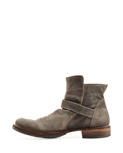 fiorentini baker suede boots in multicolor for lyst