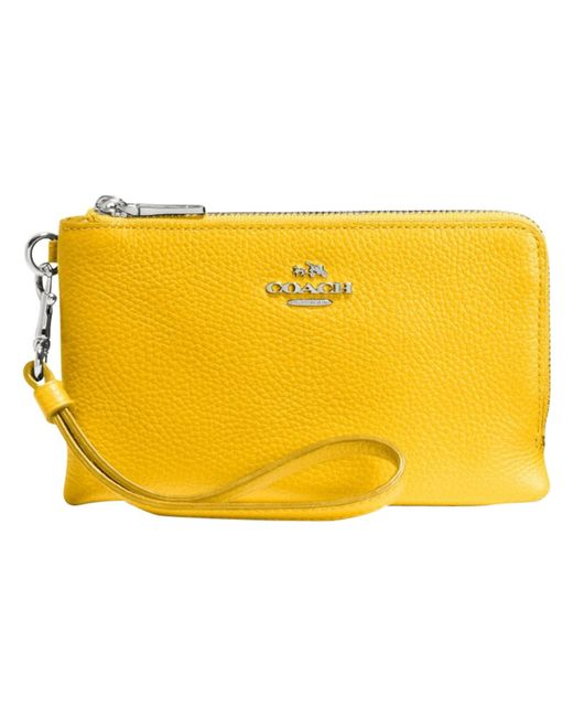 Pictures Of Yellow Coach Purse