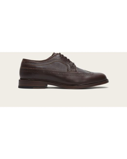 Frye | Brown James Wingtip for Men | Lyst