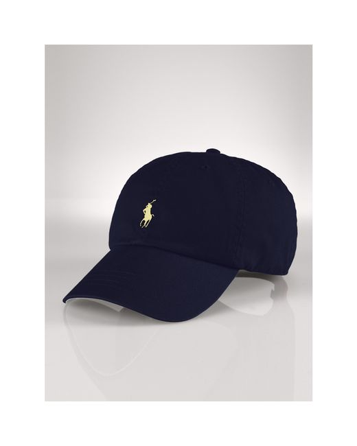 Polo Ralph Lauren | Blue Signature Pony Hat for Men | Lyst