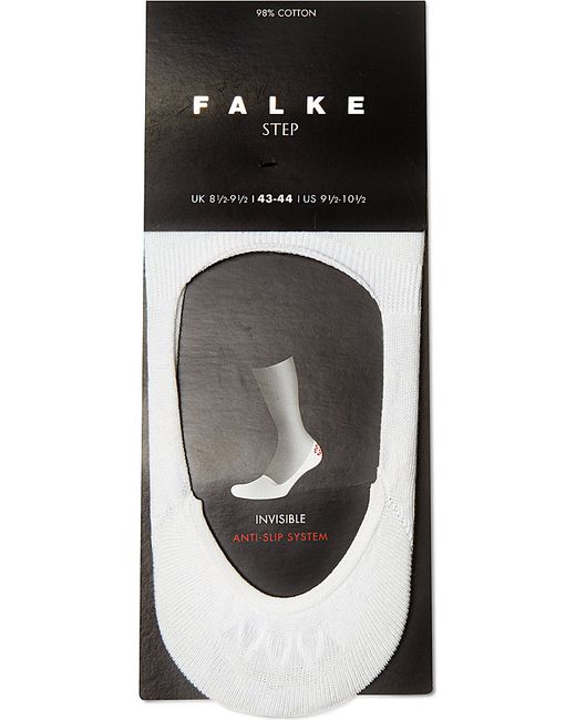 Falke | White Invisible Step Sock for Men | Lyst