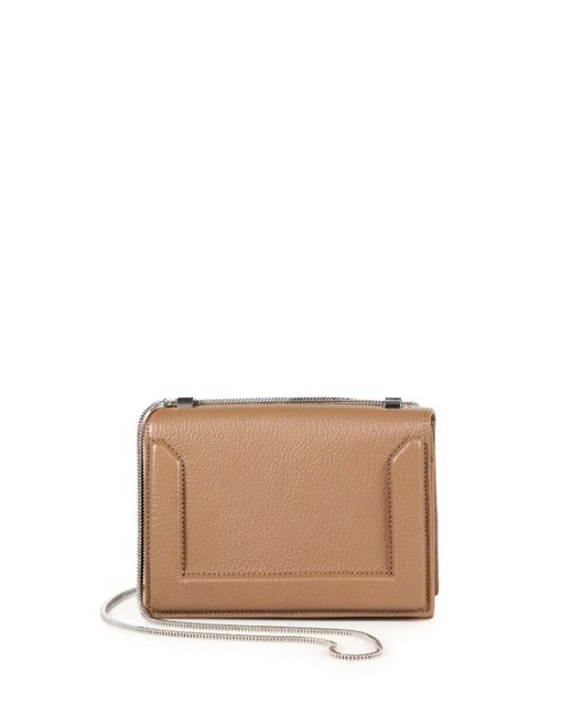 3.1 Phillip Lim | Brown Soleil Mini Leather Chain Crossbody Bag | Lyst