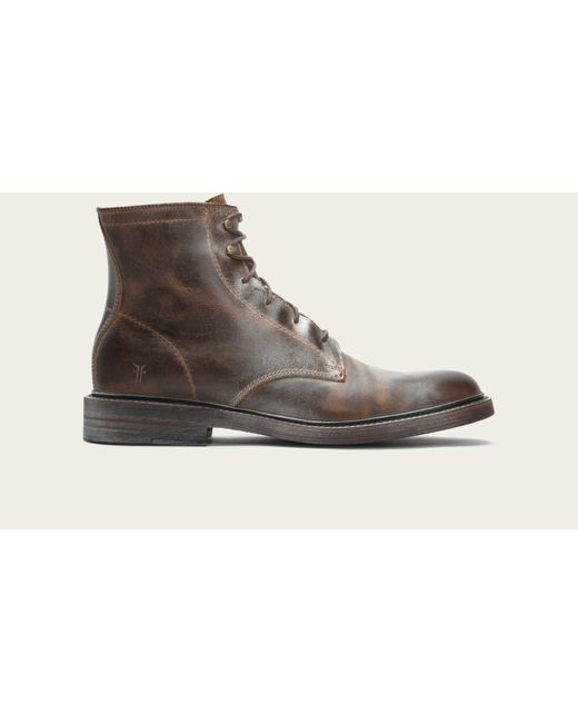 Frye | Brown James Lace Up for Men | Lyst
