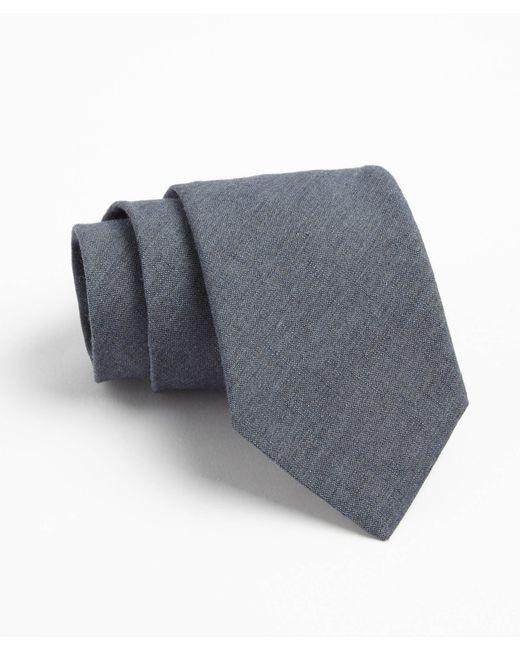 Todd Snyder   Gray Fulton Crosshatch Tie In Blue Grey for Men   Lyst