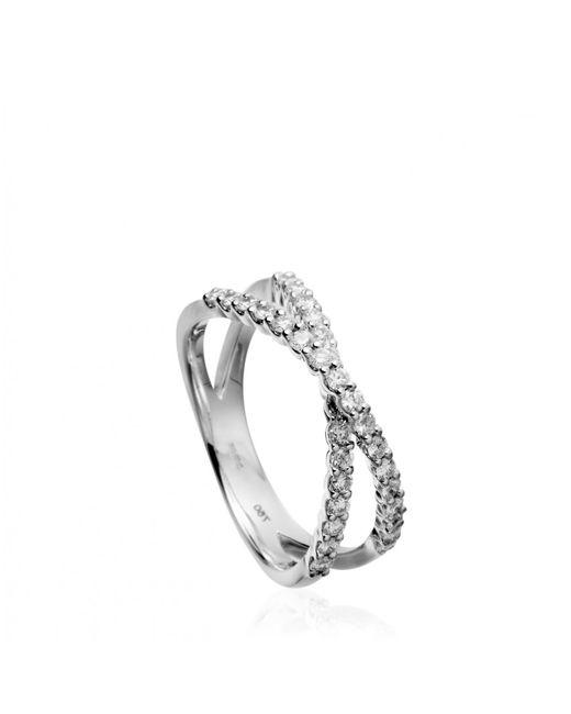 Astley Clarke | Metallic Diamond Wrap Ring | Lyst