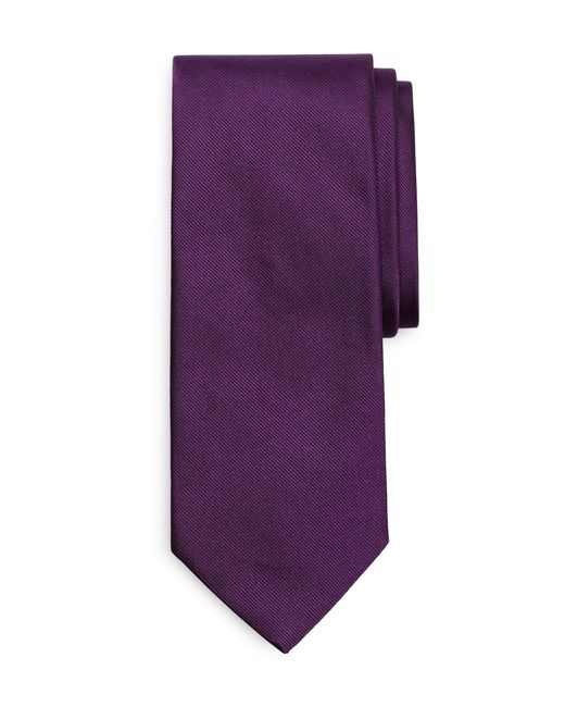 Brooks Brothers   Purple Solid Rep Tie for Men   Lyst