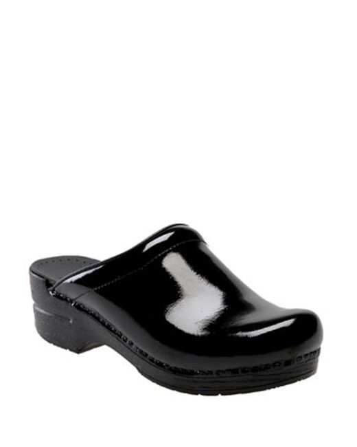 Patent Leather Work Shoes