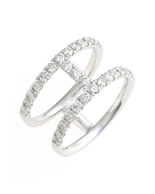 Black Diamond Pinky Ring Womens