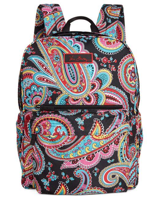 Vera Bradley | Pink Lighten Up Just Right Backpack | Lyst
