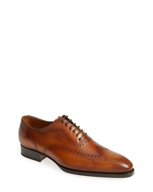 Sendra | Brown 'westport' Wingtip Oxford for Men | Lyst