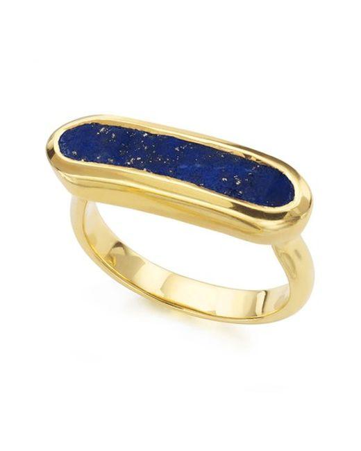 Monica Vinader   Yellow 'baja' Stone Ring   Lyst