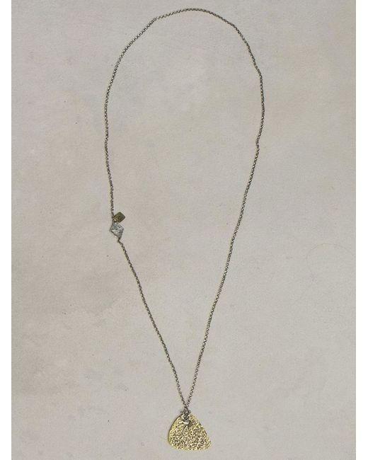 John Varvatos | Metallic Brass Guitar Necklace for Men | Lyst