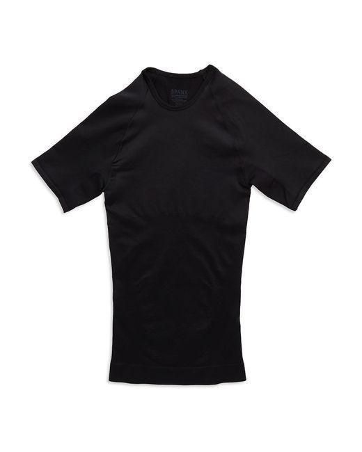 Spanx | Black Seamless Short-sleeved T-shirt for Men | Lyst