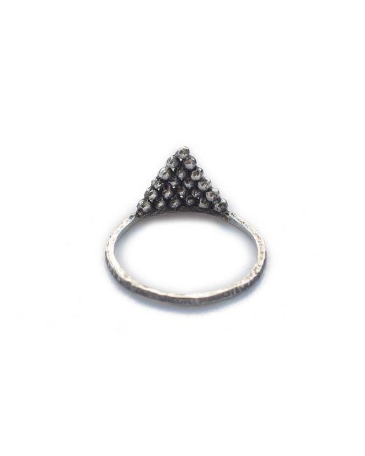 Pamela Love | Metallic Pyramid Ring | Lyst