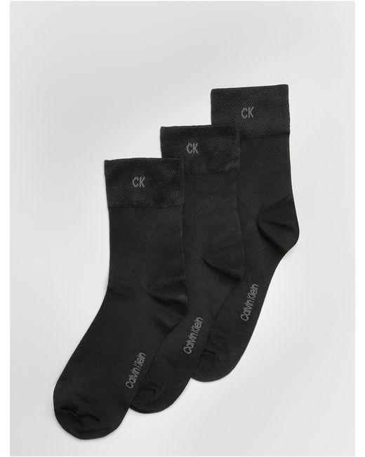 Calvin Klein   Black Underwear 3 Pack Lightweight Socks   Lyst