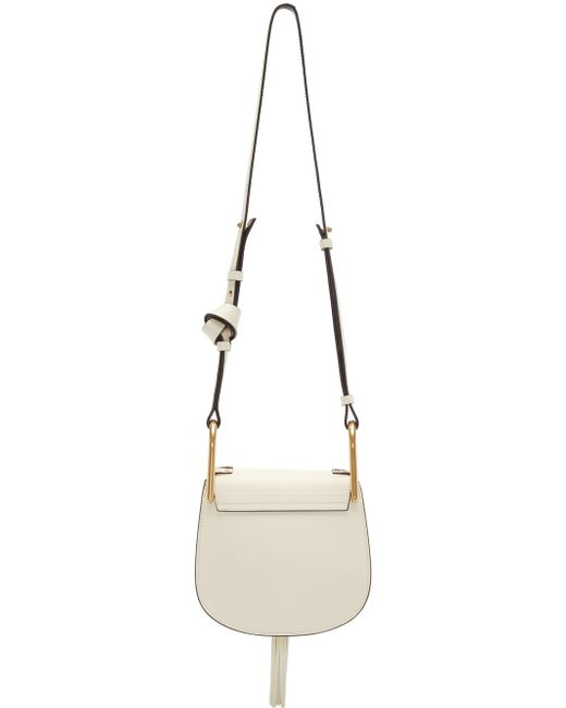 red chloe bags - Chlo�� Hudson Mini Leather Shoulder Bag in White | Lyst