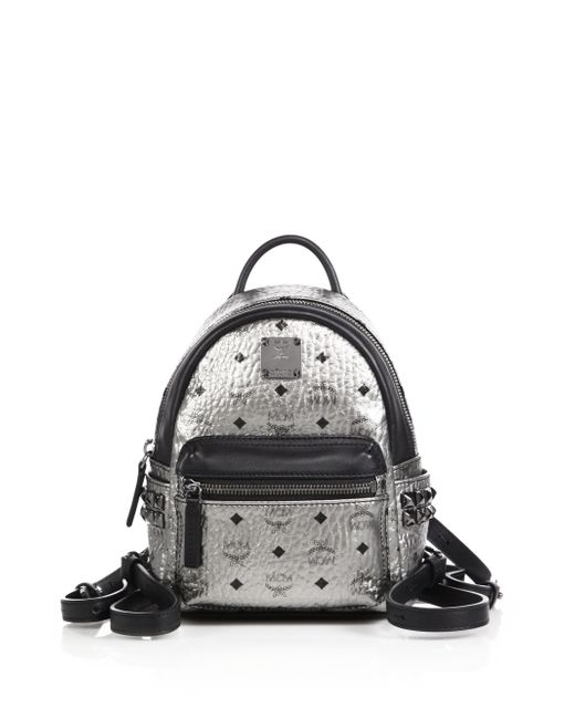 MCM | Blue Stark Side-stud Mini Backpack | Lyst