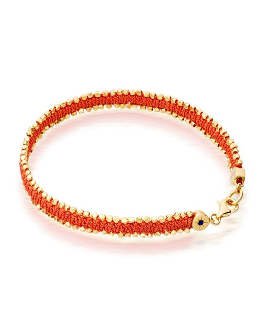 Astley Clarke | Orange Woven Biography Bracelet | Lyst