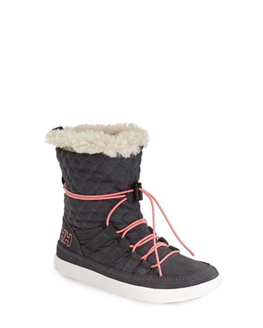Helly Hansen | Gray 'harriet' Cold Weather Boot | Lyst