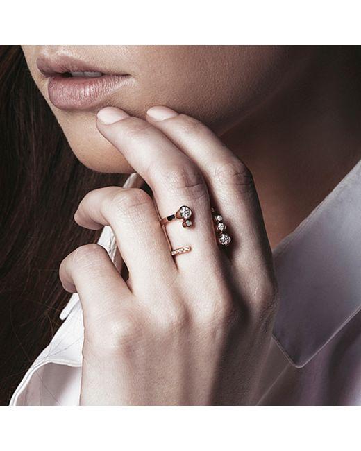 Carbon & Hyde | Metallic Bubbledrop Ring | Lyst