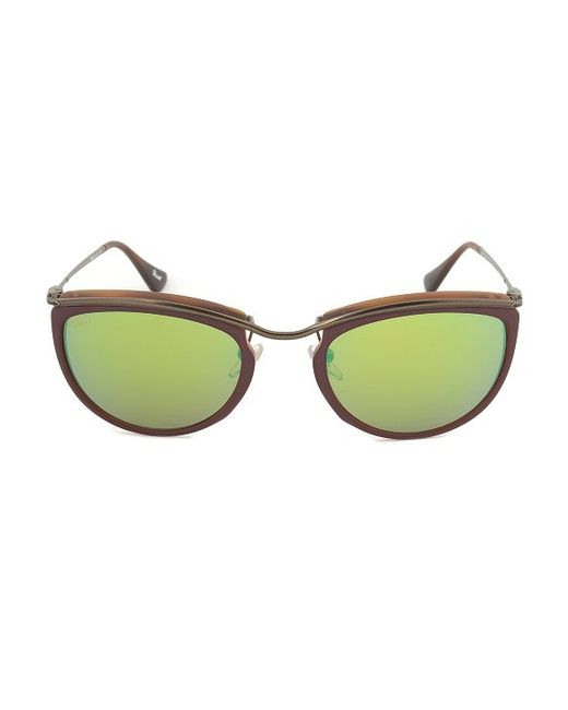 Red Lens Gold Frame Sunglasses : Persol Po3082s 1006/07 Sunglasses Red And Matte Havana ...