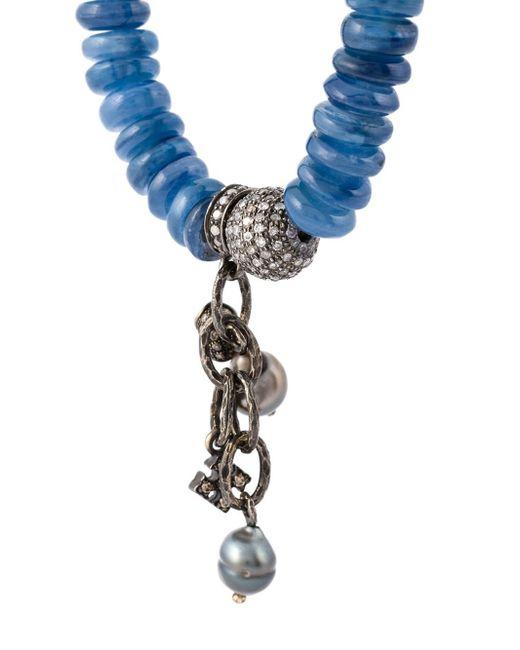 Loree Rodkin | Blue Embellished Diamond Bracelet | Lyst