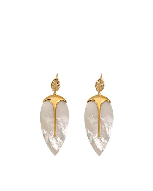 Aurelie Bidermann | Metallic Talitha Earrings | Lyst