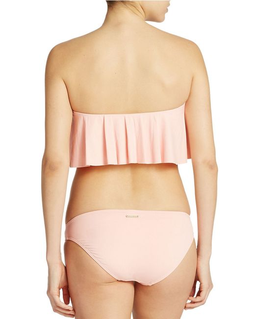 Vince Camuto | Pink Classic Hipster Bottom | Lyst