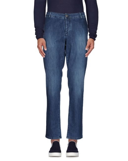 Alessandro Dell'acqua | Blue Denim Pants for Men | Lyst