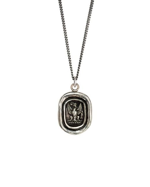 Pyrrha | Metallic 'follow Your Dreams' Talisman Pendant Necklace | Lyst