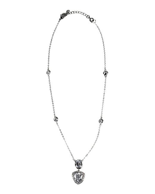 CZ by Kenneth Jay Lane | Metallic Necklace | Lyst